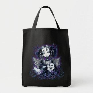 """Elizabeth"" Persian Cat Gothic Angel Bag"
