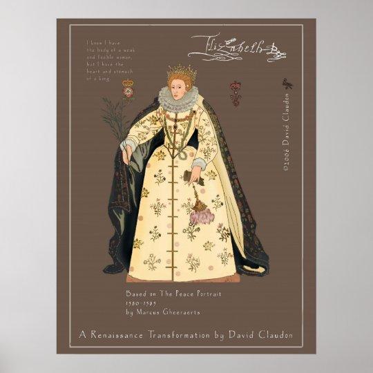 Elizabeth R of England Poster