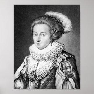 Elizabeth Stuart, Queen of Bohemia Poster