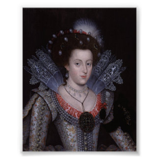 Elizabeth Stuart Queen of Bohemia Print