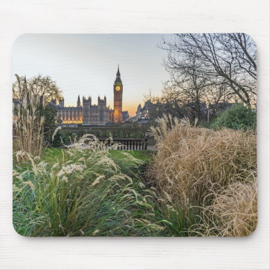 Elizabeth Tower view, London mousepad
