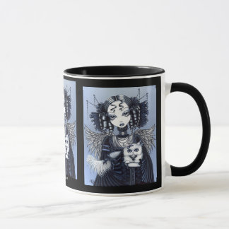 Elizabeth & Vega Persian Cat Angel Mug
