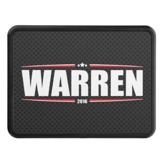 Elizabeth Warren 2016 (Stars & Stripes - Black) Hitch Cover
