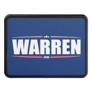 Elizabeth Warren 2016 (Stars & Stripes - Blue) Trailer Hitch Cover