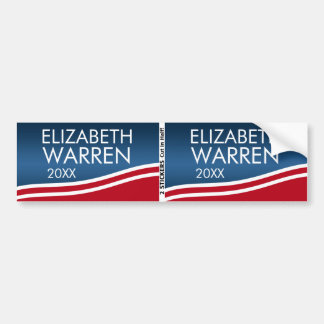 Elizabeth Warren 2020 BOGO Bumper Sticker