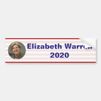 Elizabeth Warren - 2020 Bumper Sticker