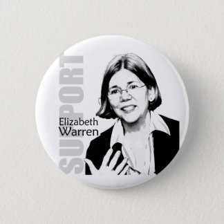 Elizabeth Warren Button