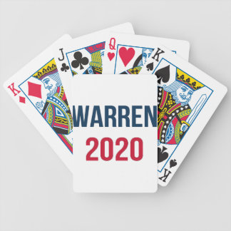 Elizabeth Warren for President 2020 Bicycle Playing Cards