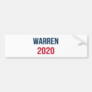 Elizabeth Warren for President 2020 Bumper Sticker