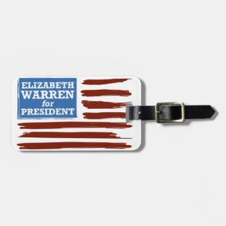 Elizabeth Warren for President Luggage Tag