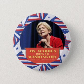 Elizabeth Warren for Senator 2012 2 Inch Round Button