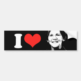 Elizabeth Warren --.png Bumper Sticker