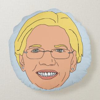 Elizabeth Warren Round Pillow