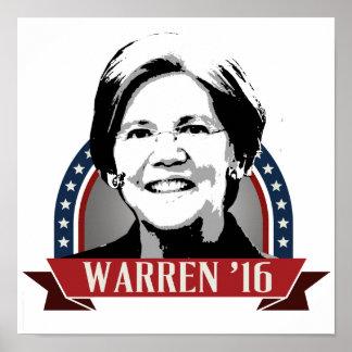ELIZABETH WARREN TO RUN IN 2016 -.png Poster