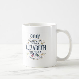 Elizabeth, West Virginia 200th Anniversary Mug