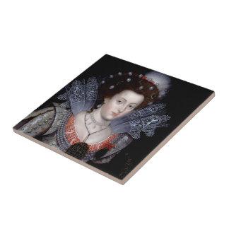 Elizabeth, Winter Queen of Bohemia Tile