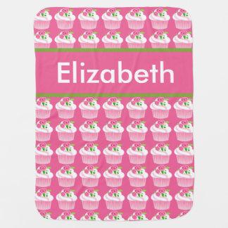 Elizabeth's Personalized Cupcake Blanket