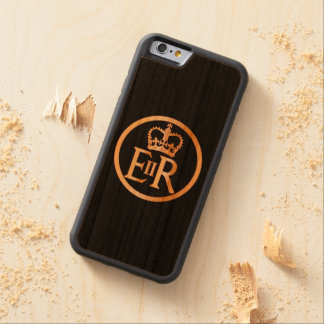 Elizabeth's Reign Emblem Carved Cherry iPhone 6 Bumper Case