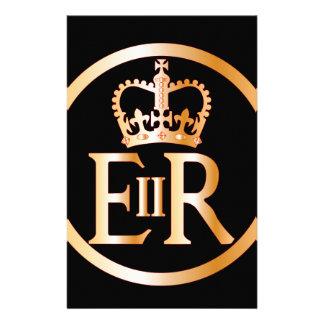 Elizabeth's Reign Emblem Stationery