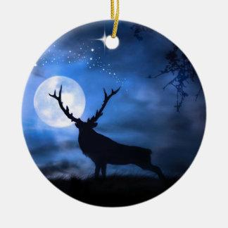 Elk Christmas Ornament