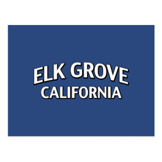 Elk Grove California Postcard