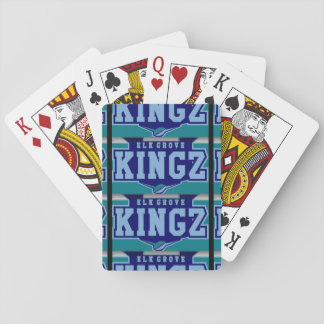 Elk Grove Kingz Playing Cards