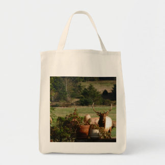 Elk: Here's Looking At Yah Tote Bag