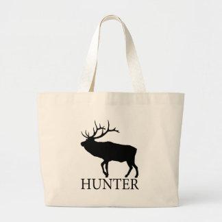 Elk Hunter Large Tote Bag