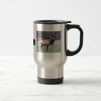 Elk hunter travel mug