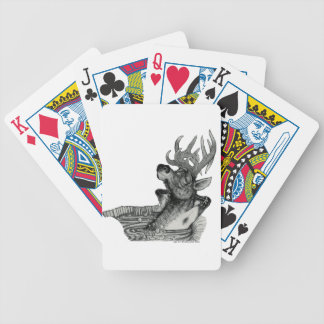 ELK IN HOTTUB BICYCLE PLAYING CARDS
