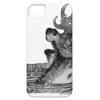 ELK IN HOTTUB iPhone 5 COVER