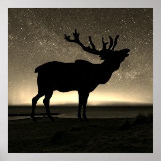 Elk In The Wilderness Poster Art