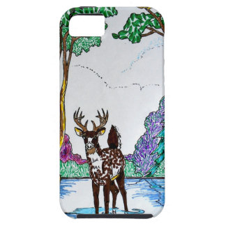 ELK IN WOODLAND CASE FOR THE iPhone 5