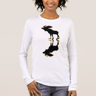 elk Moose Elch Long Sleeve T-Shirt