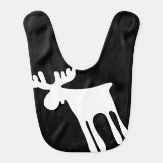 Elk/Moose, white Bib