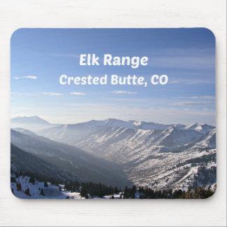 Elk Range, Crested Butte, CO Mouse Pad