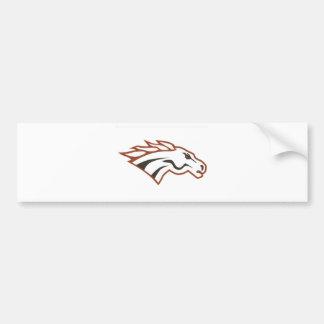 Elk River 6th Grade White Mustangs Bumper Stickers