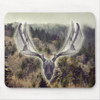 Elk skull mousepad