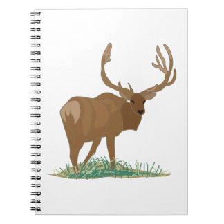 Elk Spiral Note Book