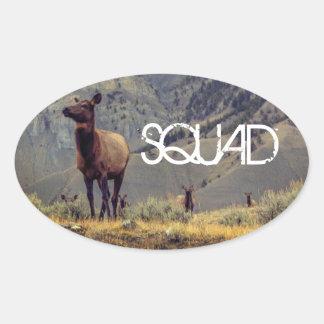 "Elk ""Squad"" Sticker"