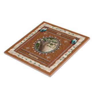 Elk  -Stamina- Ceramic Tile