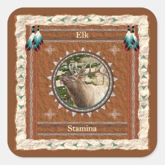 Elk  -Stamina- Stickers - 20 per sheet