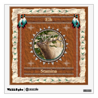 Elk  -Stamina- Wall Decal