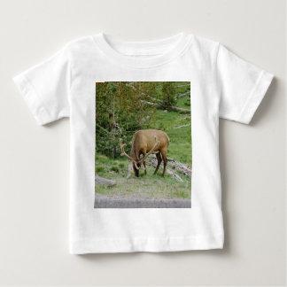 Elk With Velvet Antlers Baby T-Shirt
