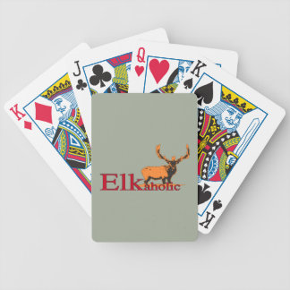 Elkaholic 2 bicycle playing cards