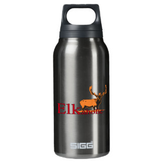 Elkaholic 2 insulated water bottle