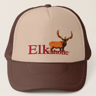 Elkaholic 2 trucker hat