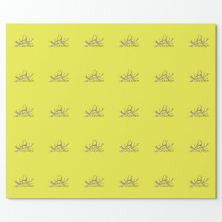 Elkaholic side view wrapping paper