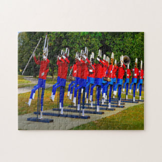 Elkhart Marching Band Indiana. Jigsaw Puzzle