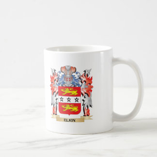 Elkin Coat of Arms - Family Crest Coffee Mug